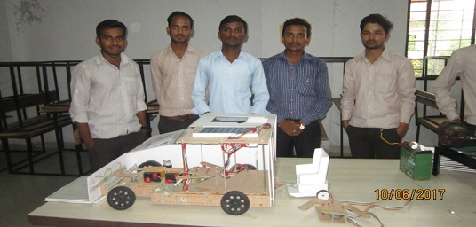 State level winner in Student Project
